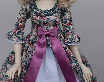 MSD BJD Clothes - Lolita dress set (Slim MSD) for 1/4 Girl