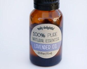 Lavender Essential Oil - 15ml bottle