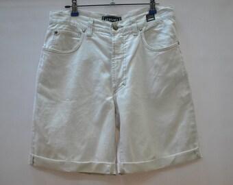 Vintage VERSACE JEANS COUTURE lino short pants....(025)