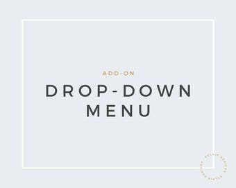 Blogger Drop Down Menu
