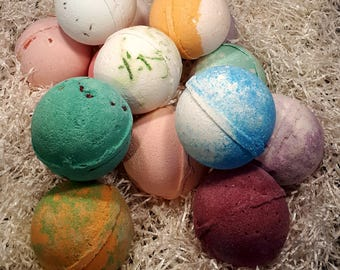 Bath Bombs Five for Her Extra Large Bath Boms 180+ grams Bath Bombs Sets Bath Bombs Gift Baskets