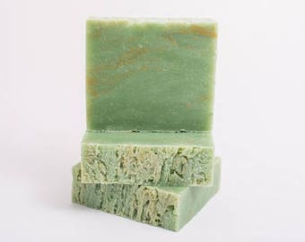 Green Clover Field Soap - Vegan - All Natural - Handmade Soap - Artisan Soap