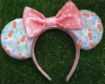 Corgi Bunny Mouse Ears