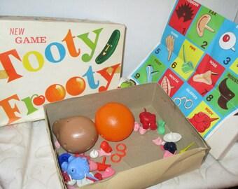 Vintage Fruit Head Tooty Frooty Game (1960s)