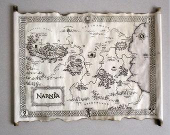NARNIA MAP The Chronicles of Narnia Map Map Of Narnia Narnia Art Narnia map the lion the witch and the wardbobe Vintage Narnia map Fantasy