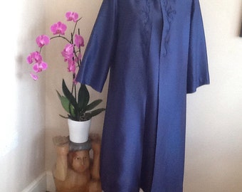 SALE    Vintage Delsol Dress and Matching Coat.