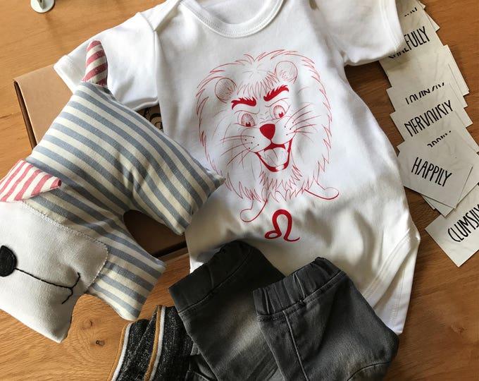 Leo Zodiac - Organic Baby Bodysuit