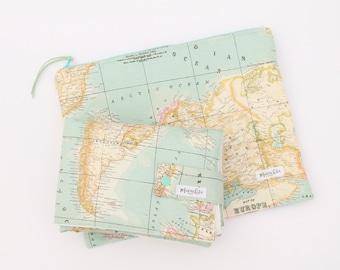 Mavachita en etsy diaper changing pad world map changing mat waterproof changing world map case gumiabroncs Images