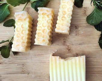 Healing Honey Soap | handmade soap, essential oil soap, all natural soap, Mother's Day gift, organic soap, bath soap, gift for her, spa gif