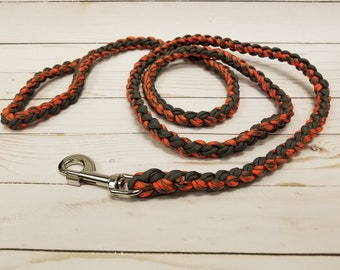 Paracord Dog Leash - 8 Strand Braid
