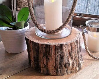 Wood Tree Stump   Cabin Decor   Tree Log   Thick Tree Slice   Wood Cake  Stand   Pedestal   Plant Stand   Pedestal