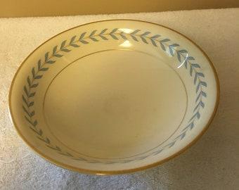 "Syracuse China Sherwood Pattern 9"" round Vegetable Serving Bowl"