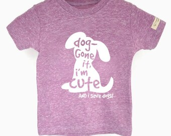 Rescue Dogs, Animal Lover Gift, Save Dogs Tee, Eco Dog Shirt, Eco-friendly Shirt, Cute Dog Tshirt, Dog Rescue Shirt, Dog Shirt for Girls