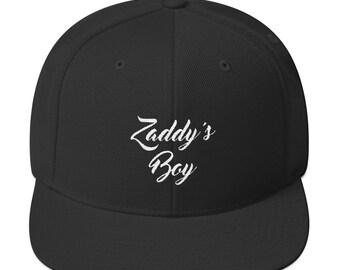 Zaddy's Boy Snapback Hat