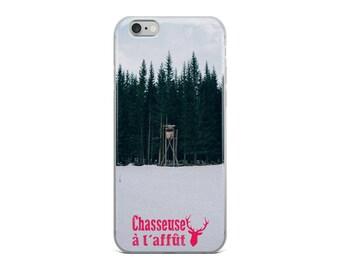 iPhone Case | Chasseuse à l'affût