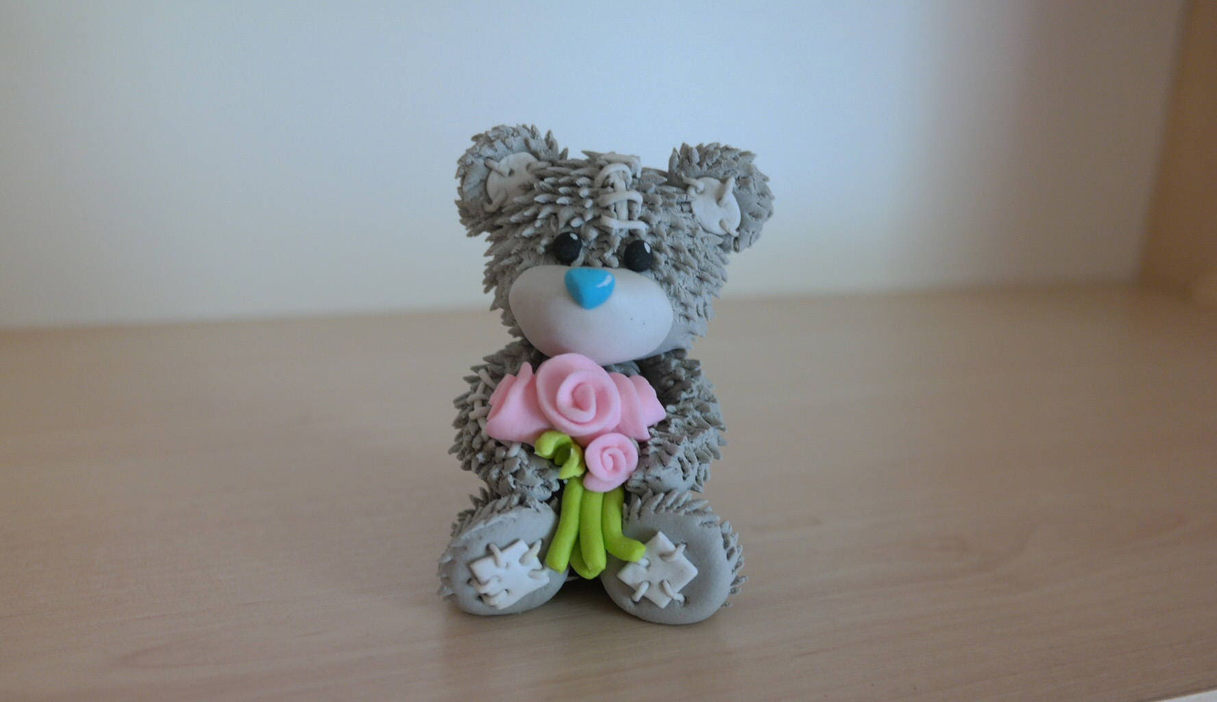 Teddy bear cake topper bear cake boy girl baby teddy bear zoom izmirmasajfo