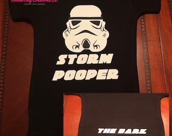 Star Wars Infant Onesie - Storm Pooper... The Dark Side