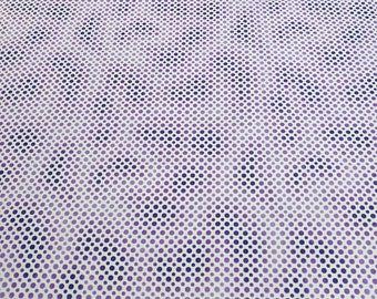 Ombre Dots-Purple Cotton Fabric from Quilting Treasures