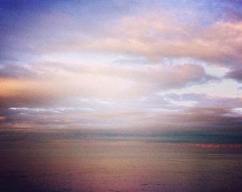 Himmlisch - 12 x 12 Strand Landschaft Oceanscape verträumt Surreal Decor Artwork HAMPEL