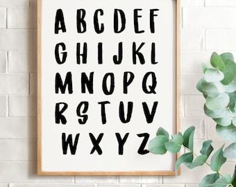 Alphabet Print (Digital File)
