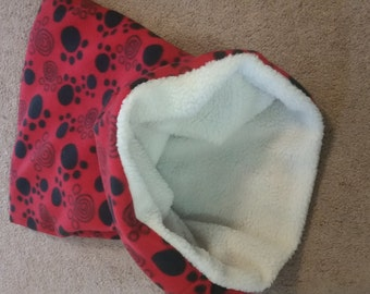 Snuggle Sack; For Dogs, Cats, and other Pets who LOVE to burrow!