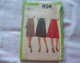 Simplicity 6061 Maternity straight skirt pattern  sewing pattern