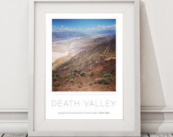 Death Valley National Park A3 / A2 Poster Location | Wall Art |