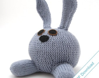 Knit Pattern PDF Download. Rabbit. Knit Your Own Bunny.