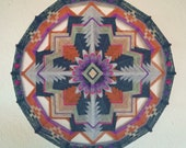 Dance Therapy, 24 inches, 16-sided Ojo de Dios, in stock by Jay Mohler