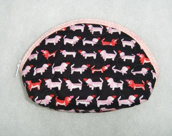 Small Quilted Purse - Basset Hound