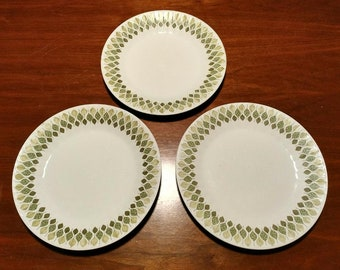 3 vintage Spanish Crown Pontessa dinner plates  sc 1 st  Etsy & Spanish dinner | Etsy