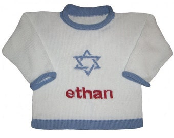 Personalized Hannukah Sweater for Children