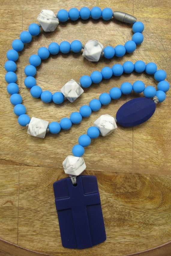 Catholic easter gift for baby and children chewable rosary like this item negle Choice Image