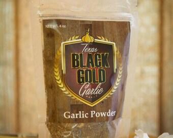 Texas Black Gold Garlic  Powder!