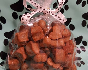 8oz bag of mixed dog treats