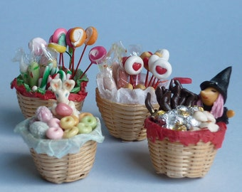 Basket with goodies
