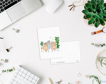 Card, worktable