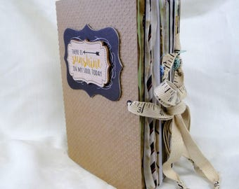 Junk Journal, Writing Journal, Diary, Keepsake Journal, Handmade Journal