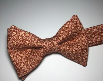 Falling Leaves Bow Tie