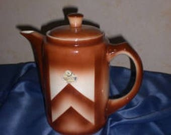 Bunzlau Art Deco Coffee Pot