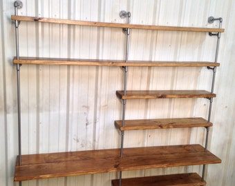 office shelf unit. Industrial Desk - Bookcase Bookshelves Urban Pipe Wall Office Shelf Unit