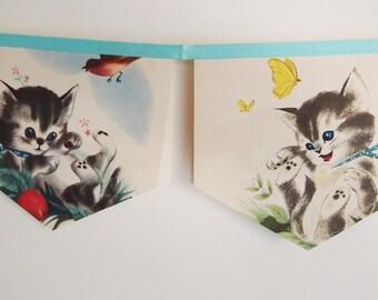 Little Golden Book Bunting - Katie the kitten