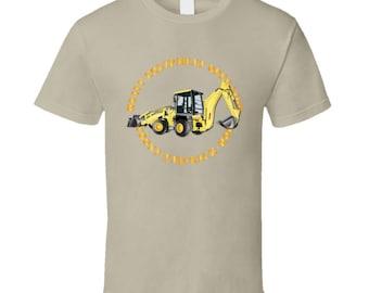 Heavy Eq - Heavy Equipment Operator - Front End - Back-hoe  T Shirt