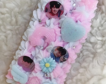 ASTRO Eunwoo iPhone 8 Plus Decoden Phone Case