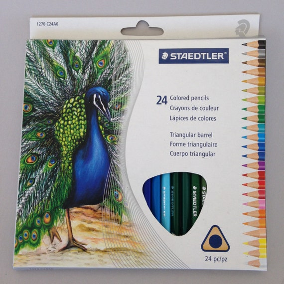 Pentel Colored Pencils 24/Pkg great for coloring, polymer clay and sand so much more