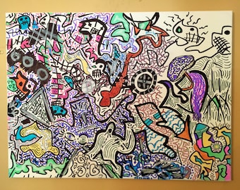 Drawing on Canvas 2017