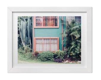 Contemporary Fine Art Photograph, Architecture in San Jose, Costa Rica Print, Landscape Photography, Original Modern Art, Custom Sizes