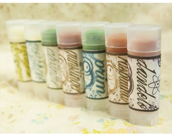 solid perfume - pixxxie pies positively semi-precious solid perfume - solid botanical perfume - you pick your poison - over 60 options