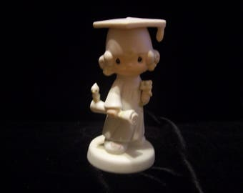 """Precious Moments. """"The Lord Bless and Keep You"""" Figurine"""