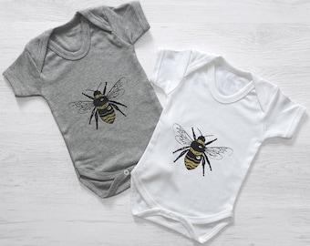 Bumble Bee Baby Grow